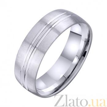 Золотое обручальное кольцо Счастливые судьбы TRF--4211722