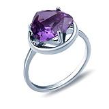 Серебряное кольцо Алисия с александритом