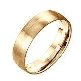 Обручальное кольцо из желтого золота Добро