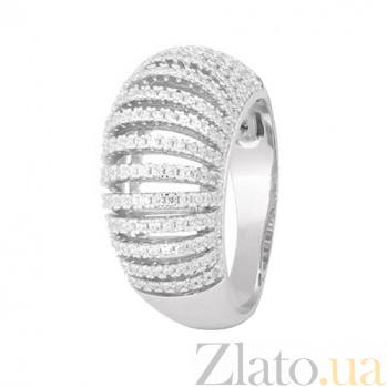 Серебряное кольцо с фианитами Астика 000028098
