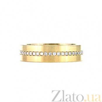 Кольцо из желтого золота с топазами Истинная любовь 000029787