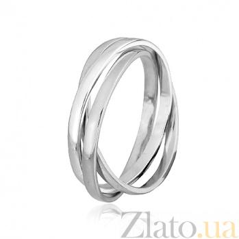 Кольцо из серебра Изящное трио 000025856