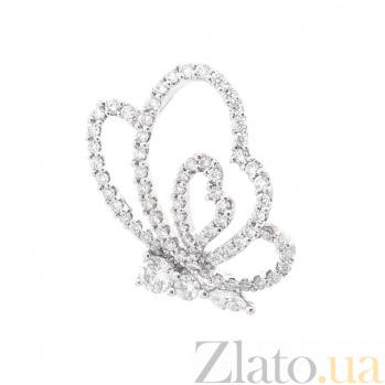 Кулон из белого золота Роскошь лета с бриллиантами 000096479