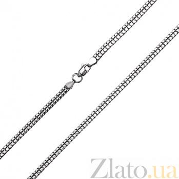 Серебряная цепочка Двойной снейк TNG--800501С