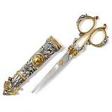 Серебряные ножницы для бумаги Эскалибур