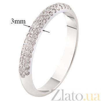 Кольцо из белого золота с бриллиантами Стиль KBL--К1876/бел/брил