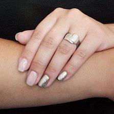 Серебряное кольцо с чернением Рипсимия
