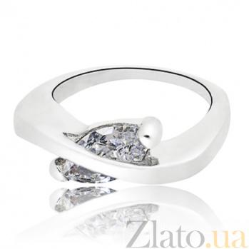 Серебряное кольцо Элисса с фианитами 10000061
