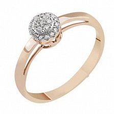 Золотое кольцо с бриллиантами Джеральдина