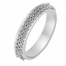 Золотое кольцо в белом цвете Динамика