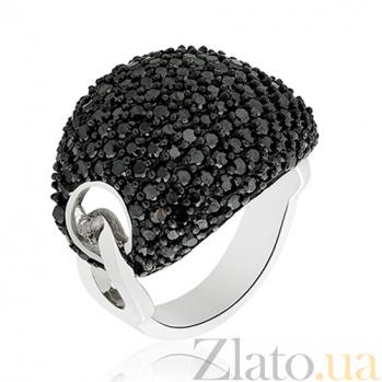 Кольцо серебряное Бирма с кристаллами Сваровски 10000023