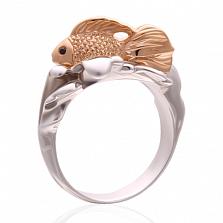 Эксклюзивное золотое кольцо с бриллиантами 3 желания