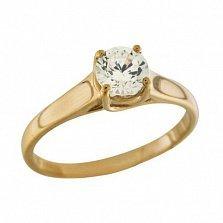 Золотое кольцо Страна любви с цирконием