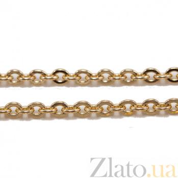 Цепочка из красного золота Ролло VLN--319-006
