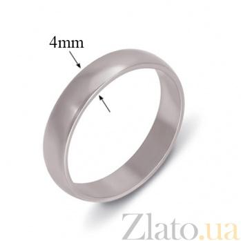 Обручальное кольцо из серебра Авекс TNG--340004С