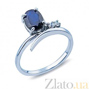 Кольцо из серебра с сапфиром Василина AQA--R01535S