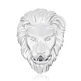 Серебряный подвес Лев