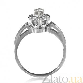 Кольцо из белого золота Джозефа с бриллиантами EDM--КД7432/1