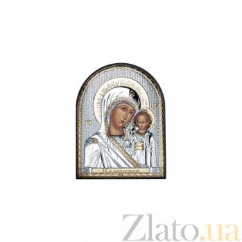 Серебряная икона Божья Матерь Казанская AQA--EP4-004PAG