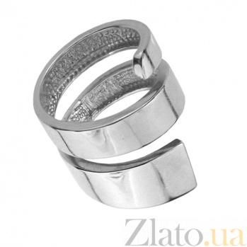 Серебряное кольцо Тандем TNG--310133С