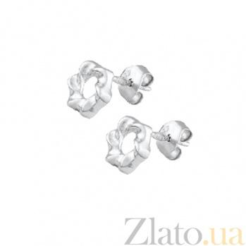 Сережки из серебра Сью SLX--С2/390