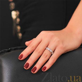 Кольцо из белого золота с бриллиантами Ровена EDM--КД7539/1