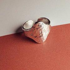 Кольцо на фалангу «Перстень средний кованый» разм.12,5-14