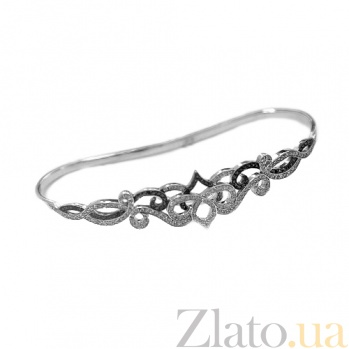 Золотой браслет на запястье с бриллиантами Sati ZMX--BDDb-00120w