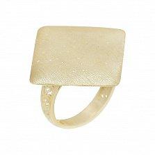 Кольцо из желтого золота Тадж-Махал