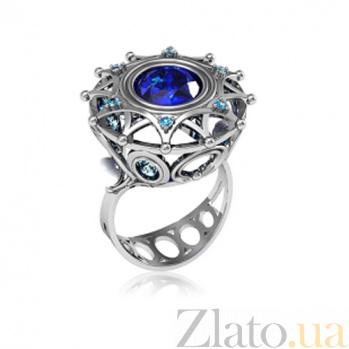 Серебряное кольцо с фианитами Зимняя сказка TNG--330700С