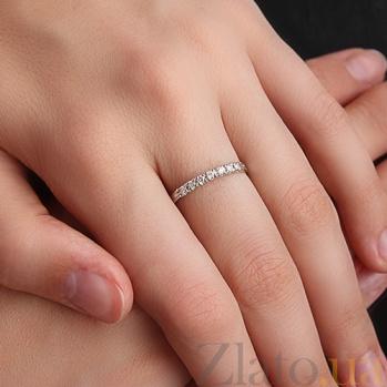 Кольцо из белого золота с бриллиантами Кэролин 000026492
