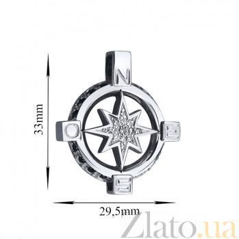 Серебряная Путеводная звезда AUR--74523б/ч