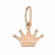 Золотой кулон Корона