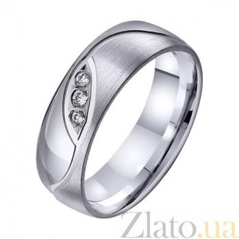 Золотое обручальное кольцо Живая любовь TRF--422705