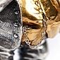 Серебряная статуэтка с позолотой Изя 525-м