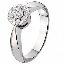 Золотое кольцо с бриллиантами Избранница