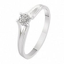 Помолвочное кольцо с бриллиантами Мари