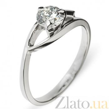 Золотое кольцо с бриллиантом Моник R0454