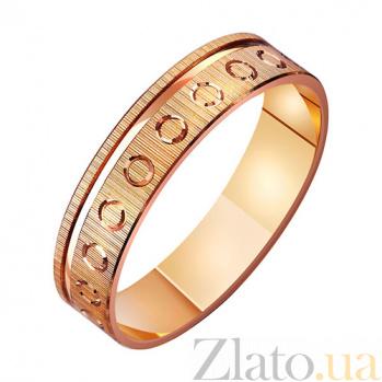 Золотое обручальное кольцо Первое признание TRF--411080