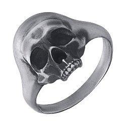 Кольцо из серебра Yorick с чернением 000091361