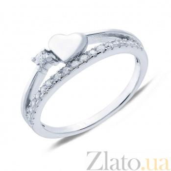 Серебряное кольцо Любовная страсть AQA--MR-10344-1