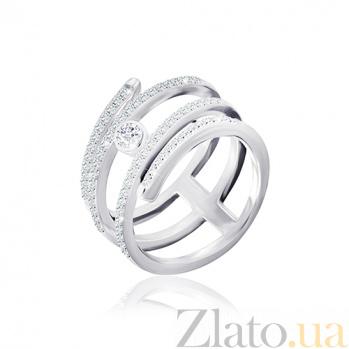 Кольцо из серебра Диара с фианитами 000030910