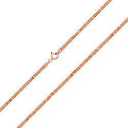 Серебряная цепочка с позолотой 000026061