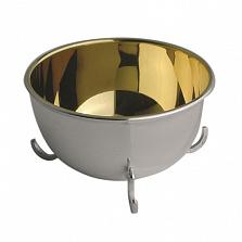Серебряная солонка Korpus с внутренней позолотой