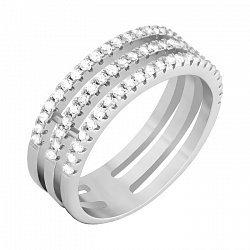 Серебряное кольцо Эльфрида с цирконием