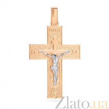 Золотой крестик Символ Христа SUF--501630