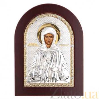 Икона серебро с позолотой Матроны Московской AQA--MA/E1112BX