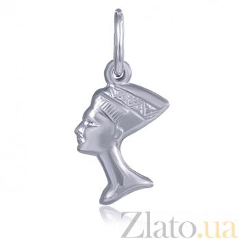 Серебряный подвес Звезда Египта с родированием 000027498