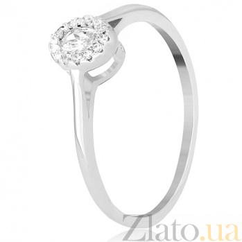 Кольцо из серебра Алуетта с фианитами 000030951
