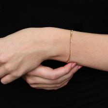 Золотой браслет Доминика